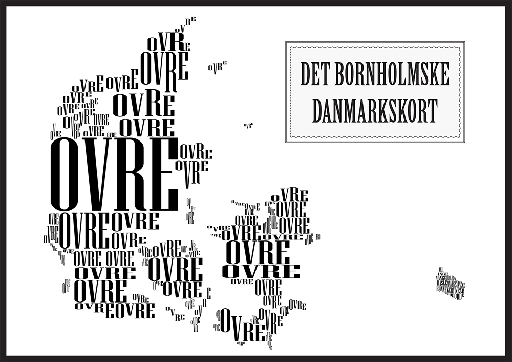 bornholmskdanmarkskort