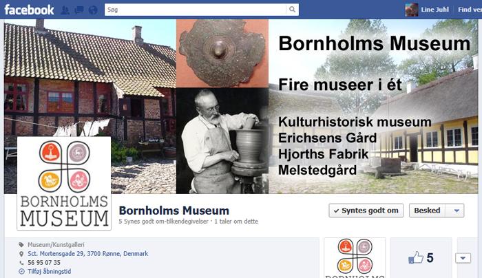 facebookside Bornholms mussem