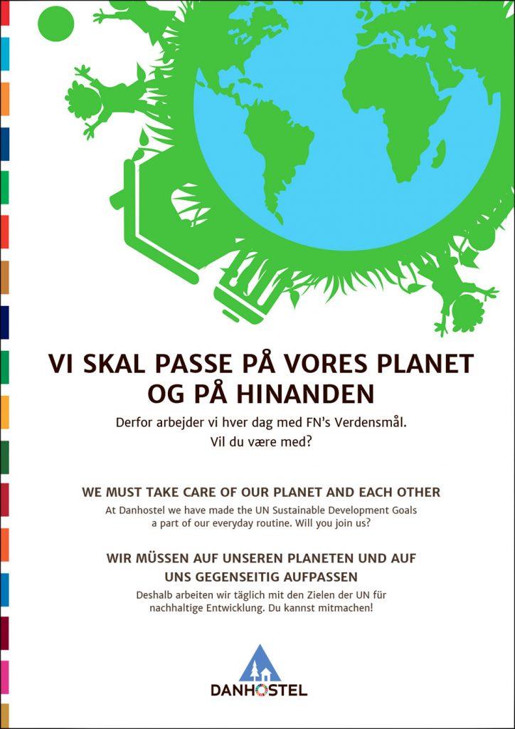 FN-verdensmåls plakat
