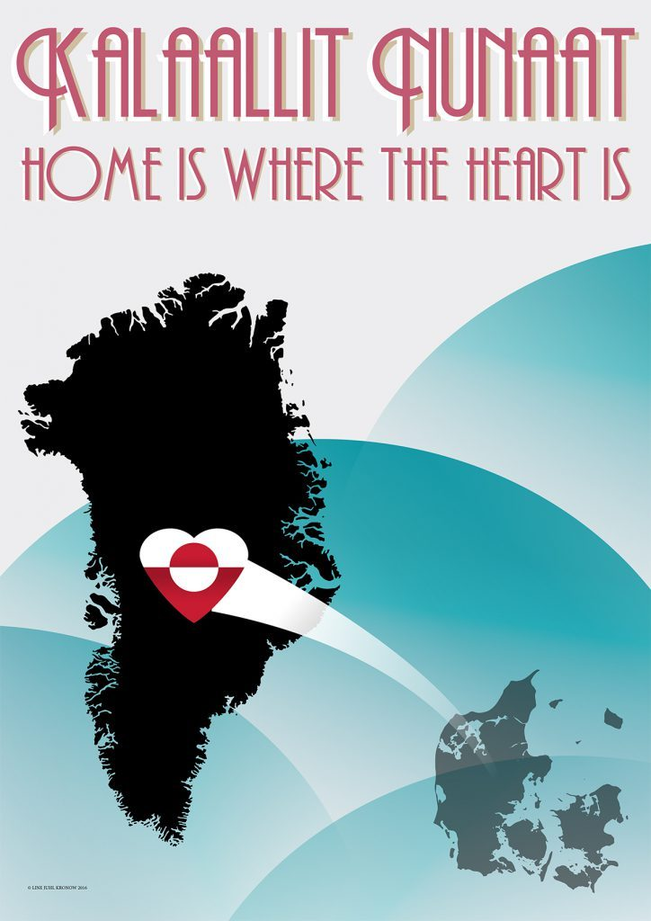 grønlandsk plakat