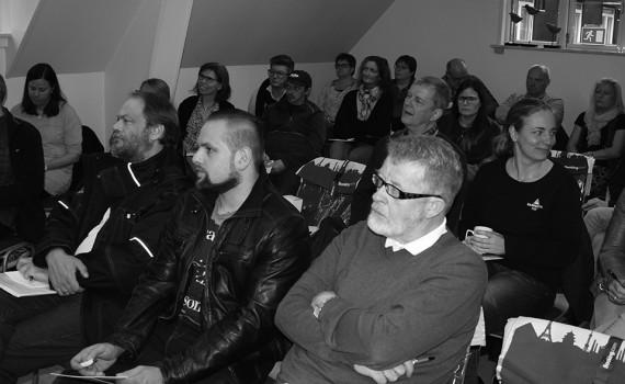 Kursusdeltagere til kursus med Line Juhl Kronow