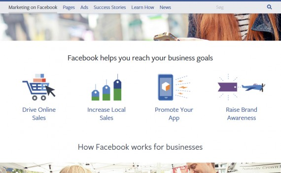 Facebook businesses